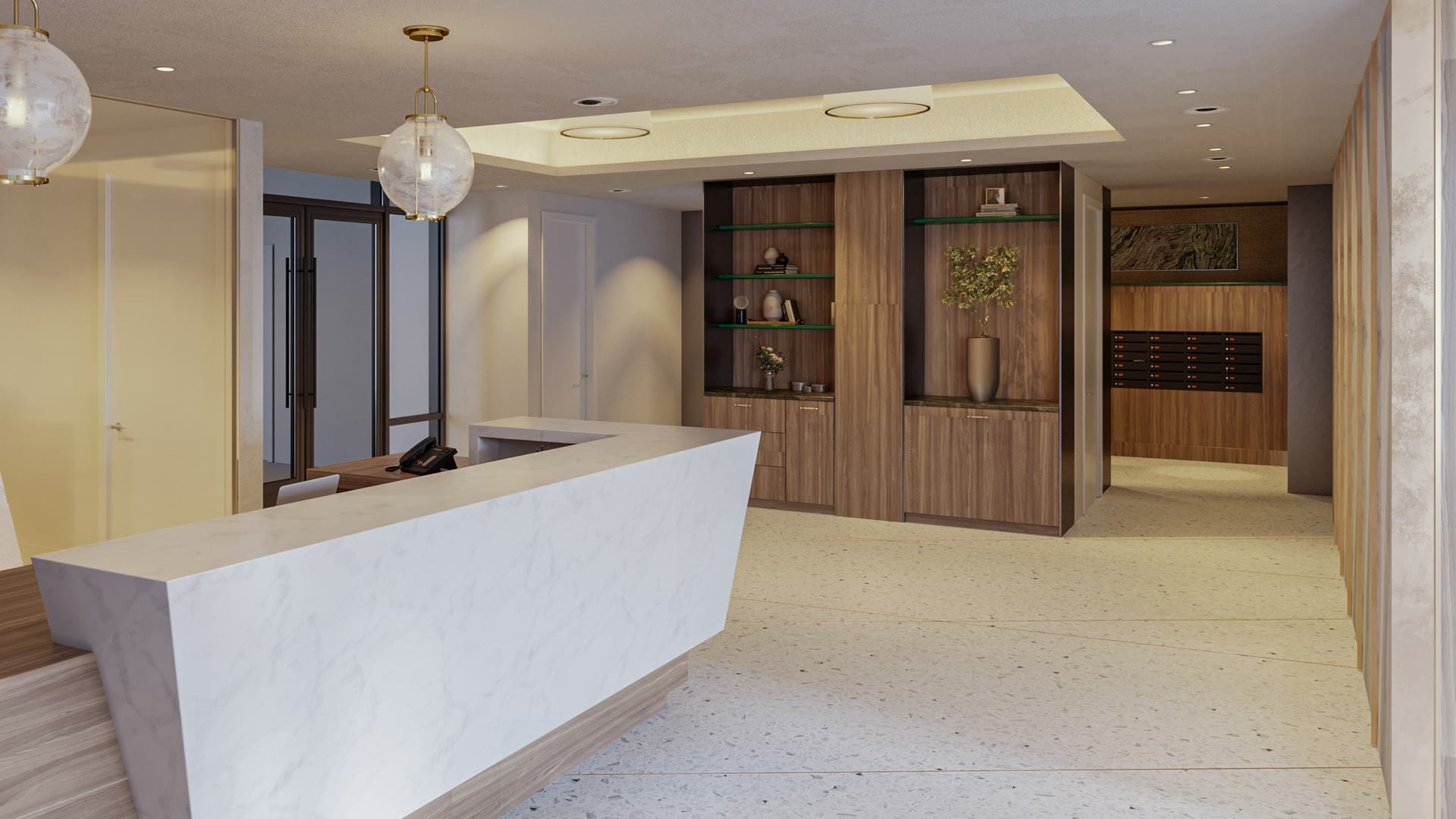 Concierge and Mail Room